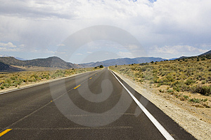Straight Highway Free Stock Images
