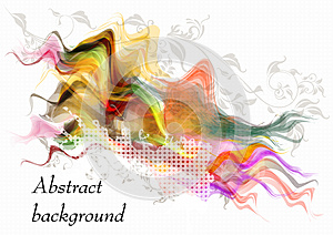 Colorful Vector Background Royalty Free Stock Photography - Image: 26506877