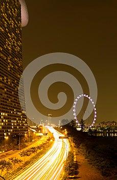 Marina Bay Sands And Singapore Eye Stock Photography - Image: 26519142