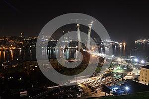 Night View Of Vladivostok Royalty Free Stock Photos - Image: 26519778