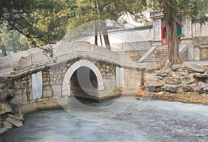 Chinese Garden Scenery Stock Photography - Image: 26528122