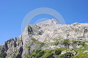 Mountain peak Fisht near the Sochi Free Stock Images