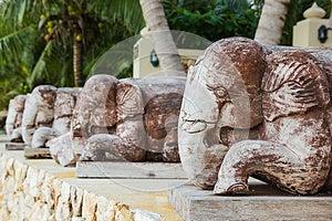 Elephants Engraving Royalty Free Stock Image - Image: 26535156