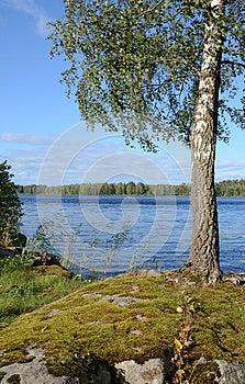 September's Lake Coast Royalty Free Stock Images - Image: 26537649