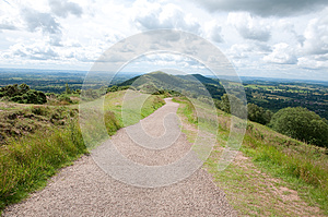 Clouds Over The Hills Stock Image - Image: 26539611