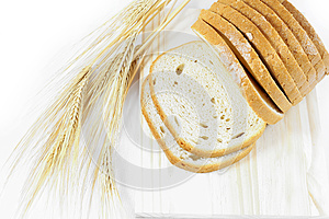 Fresh Sweet Bread On The Table Stock Photo - Image: 26542590