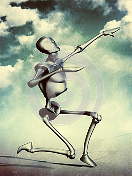 Metal Humanoid Royalty Free Stock Image - Image: 26542956