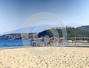 Platamon Beach, Greece Stock Image - Image: 26561381
