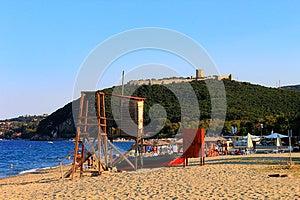 Platamon Castle, Greece Stock Image - Image: 26561411
