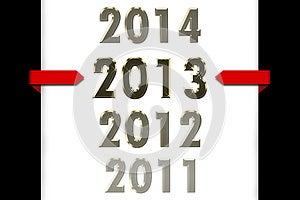 Ano 2013 Fotos de Stock Royalty Free - Imagem: 26570178