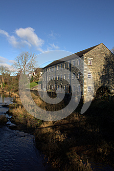 Mill On The Fleet, Gatehouse Of Fleet Royalty Free Stock Images - Image: 26570719