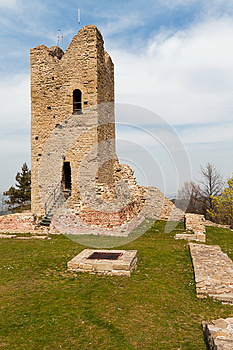 Ruined Tower Stock Photo - Image: 26574230