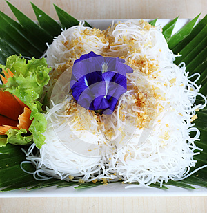 Thai Food , Rice Noodle Stock Image - Image: 26578161