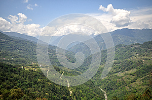 On The Way To North Sikkim Royalty Free Stock Photography - Image: 26585427