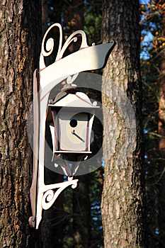 Graceful Birdhouse Royalty Free Stock Images - Image: 26590889