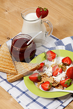 Light Breakfast Royalty Free Stock Images - Image: 26592289