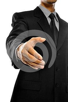 Want To Shake Hand Stock Photo - Image: 26593820