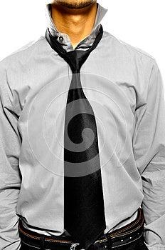 Untidy Collar Stock Image - Image: 26593851