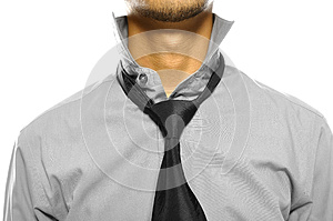 Untidy Collar Royalty Free Stock Images - Image: 26593869