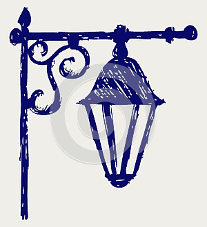 Old Lamp Stock Image - Image: 26595741
