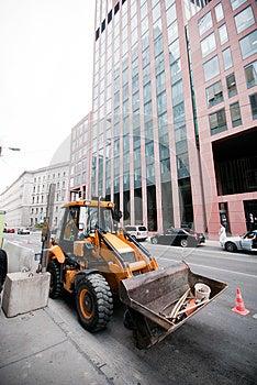 Loading Excavation Royalty Free Stock Photos - Image: 26597258