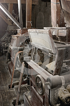Old Machinery Of A Mill Royalty Free Stock Photo - Image: 26599385