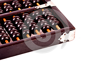 0ld Chinese Calculator Stock Images - Image: 26600554
