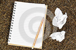 Blank Note Book Royalty Free Stock Images - Image: 26610489