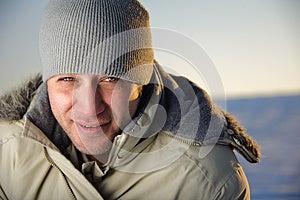 Winter Male Portrait. Royalty Free Stock Photo - Image: 26612475