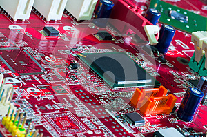 Motherboard_11203 Stock Image - Image: 26615961