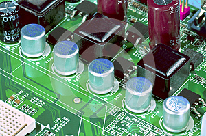 Motherboard Fragment Stock Photos - Image: 26616013