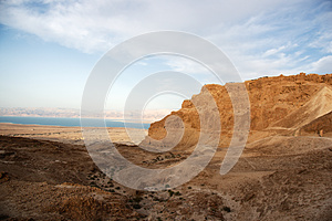 Masada And Dead Sea Stock Photography - Image: 26618902