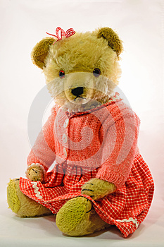 Retro Teddy... Stock Photos - Image: 26622593