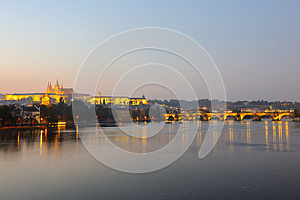 The Prague Castle Stock Photography - Image: 26624072