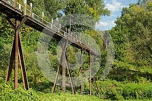 Footbridge Stock Photo - Image: 26625460
