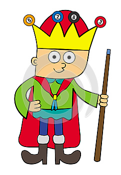 Billiard King Royalty Free Stock Photo - Image: 26629045
