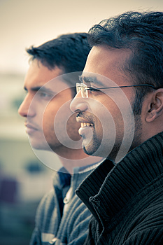 Two Indian Young Happy People Stock Photography - Image: 26629122