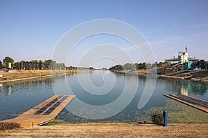 Rowing Lanes Royalty Free Stock Image - Image: 26629486
