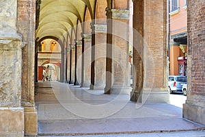 Arcade In Bologna Royalty Free Stock Photos - Image: 26629598