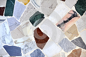 Marble Pieces Coloured Floor Stock Photography - Image: 26629632