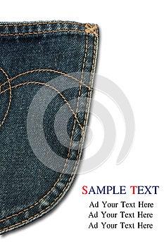 Bluejeans Pocket  Stock Images - Image: 26634754
