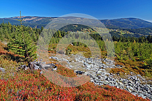 Landscape In Mountains Krkonose, Czech Republic Stock Image - Image: 26635531