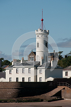 Signal Tower Stock Photography - Image: 26637212