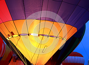 Balloon Glow At St. Louis Royalty Free Stock Photo - Image: 26642145