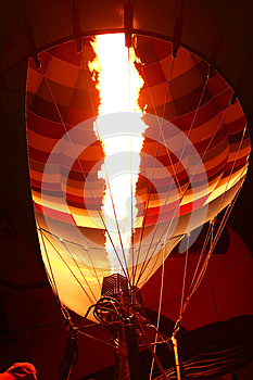 Inside Balloon Being Inflated Stock Photos - Image: 26642163