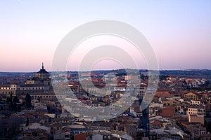 Nightfall View Of Toledo Stock Photo - Image: 26642920