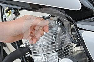 Petrol Tap Stock Image - Image: 26652211