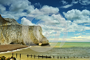 Cliff Coast In Summer Royalty Free Stock Photography - Image: 26681057