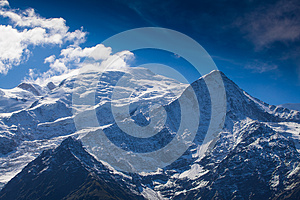 Snow Covered Mountains And Rocky Peaks In The Alps Royalty Free Stock Images - Image: 26689939