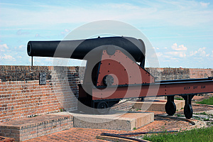 Civil War Cannon Stock Image - Image: 26697121